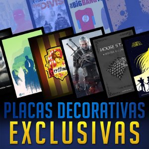 PLACAS DECORATIVAS - EXCLUSIVAS