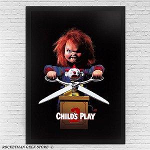 Poster Com Moldura Brinquedo Assassino 2