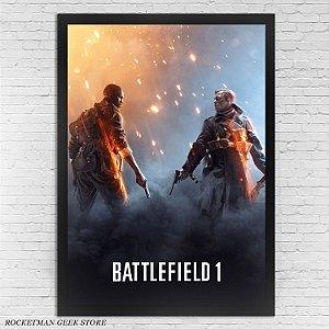 Poster com Moldura Battlefield 1