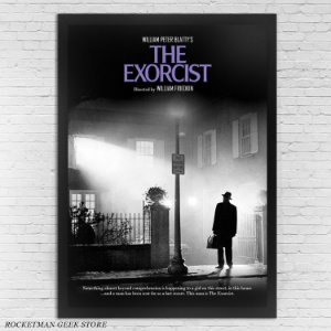 POSTER COM MOLDURA O EXORCISTA THE EXORCIST