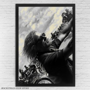POSTER COM MOLDURA SONS OF ANARCHY