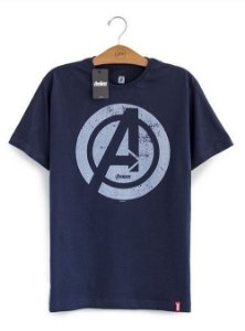 Camiseta Vingadores A Era de Ultron Logo