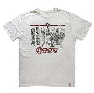 Camiseta Vingadores Era de Ultron Faixas Marvel