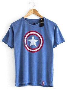 Camiseta Escudo Capitão América Marvel