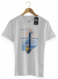 Camiseta Eye Spy Minion