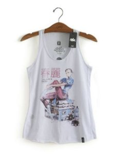 Camiseta Feminina Regata Chun-Li