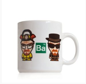 Caneca Breaking Bad - Walter Cartoon