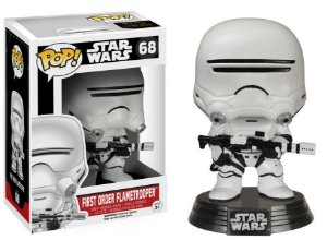 FIRST ORDER FLAMETROOPER - STAR WARS VII - FUNKO POP
