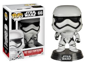 FIRST ORDER STORMTROOPER - STAR WARS VII - FUNKO POP