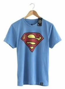 Camiseta Superman Vintage - DC Comics