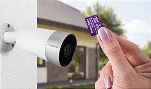 Cartão de Memoria 32GB Micro SD Intelbras Western Digital WD Purple 16TBW - Ideal para Cameras de Segurança e Camera Veicular