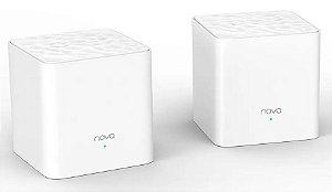 roteador mesh wifi tenda mw3 ac1200 Dual Band nova 200 metros 2 paks
