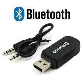 Adaptador Bluetooth para Som USB P2 Auxiliar com Microfone