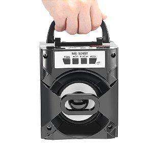 Caixa De Som Portátil Bluetooth - Cartão - Fm - Pendrive Caixinha Grasep D-BH1051
