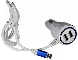 CARREGADOR VEICULAR 3.1 INOVA CAR-321Z 2 USB