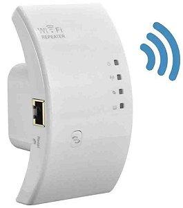 Repetidor de Sinal e Roteador Wireless  WiFi LZ-WR01