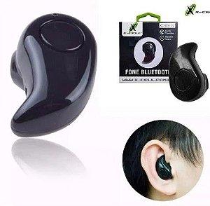 Fone de Ouvido Bluetooth Mini com Microfone X-Cell XC-BTH-19