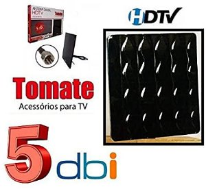 Antena Digital interna para TV 5 DBI Tomate MTA-3010