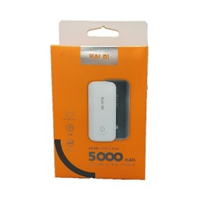 Carregador Portatil Power Bank 5000mAH Kaidi KD-905 Original