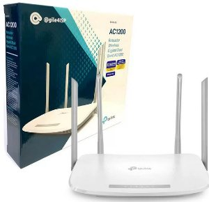 ROTEADOR WIRELESS WIFI TP-LINK EC220-G5 DUAL BAND AC1200 4 Antenas GIGABIT