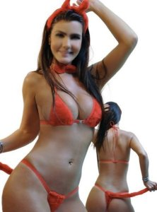 Fantasia Sexy Mary Diabinha