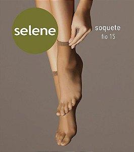Meia Selene Soquete Fio 15 (DÚZIA)