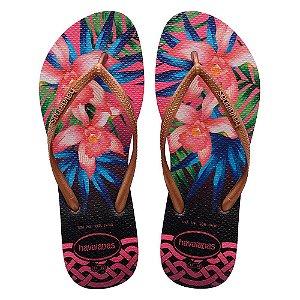 Havaianas Slim Tropical - Rosa