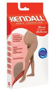 Meia-Calça Kendall Gestante sem ponteira com elástico - Média Compressão (18-21 mmHg)