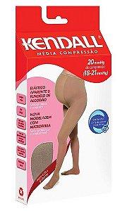 Meia-Calça Kendall Gestante com elástico aparente - Média Compressão (18-21 mmHg)