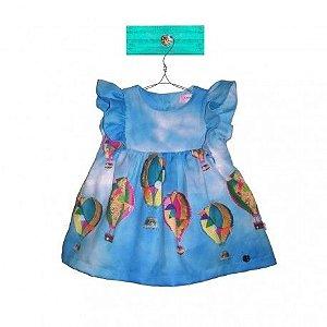 Vestido Azul Joana