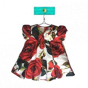 Vestido Rosas Sofia