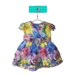 Vestido Florido Colorido Valentina