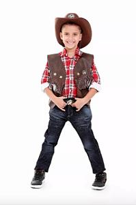 Colete Cowboy Country infantil menino