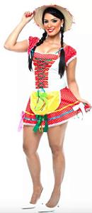 Vestido de festa junina adulto Feminino