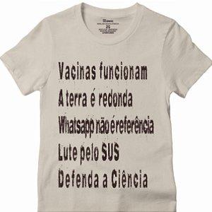 Camisa Vacinas