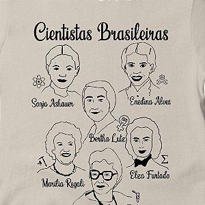 Camisa Cientistas Brasileiras