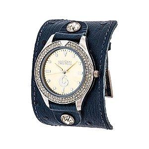 Relógio EF Bracelete com Strass, Feminino.