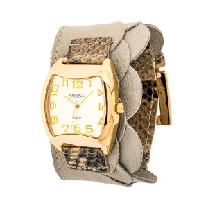 Relógio EF Bracelete com Babado, Feminino.