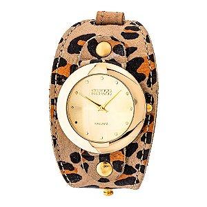 Relógio EF Bracelete Girino Onça, Feminino.