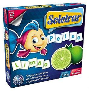 Brinquedo Educativo Soletrar 120 peças - Pais&Filhos