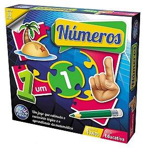 Brinquedo Educativo Números 30 peças - Pais&Filhos