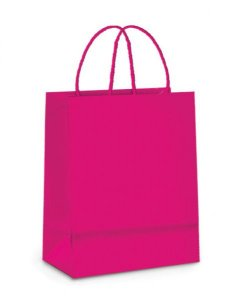 Sacola Papel Pink 32x26x13mm c/10 - Cromus