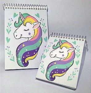 Caderneta Unicórnio