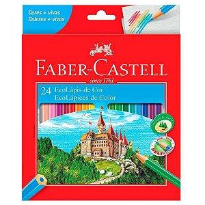 Lápis de cor 24 cores - Faber Castell