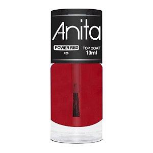 Esmalte Anita Top Coat power red 10ml