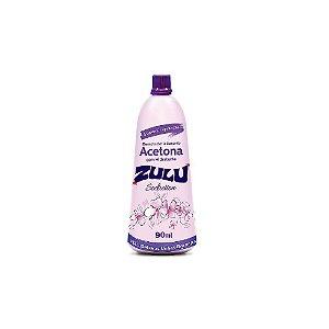 Removedor á base de acetona Zulu com hidratante 90 ml