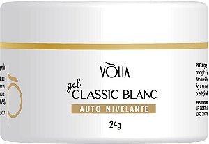 Gel para unhas Vòlia Classic Blanc Gel Construtor e Alongamento UV/LED 24G