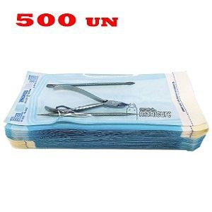 Envelopes para esterilização 9cm x 23cm Zermatt 500 Un