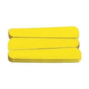 Lixa mini canário para unhas pacote com 144 unidades