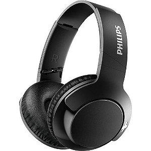 Fone de ouvido Philips Bluetooth preto sem fio